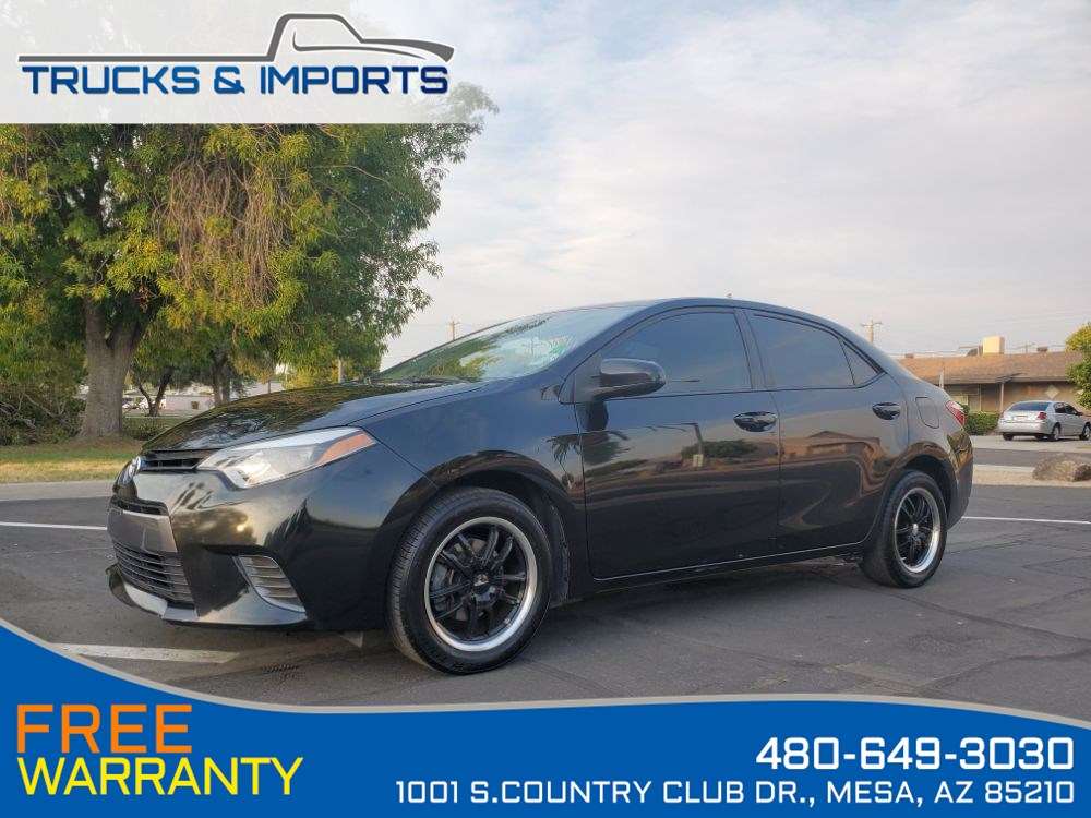 2015 Toyota Corolla LE Backup Camera, Bluetooth, Cool Wheels! 38 MPG