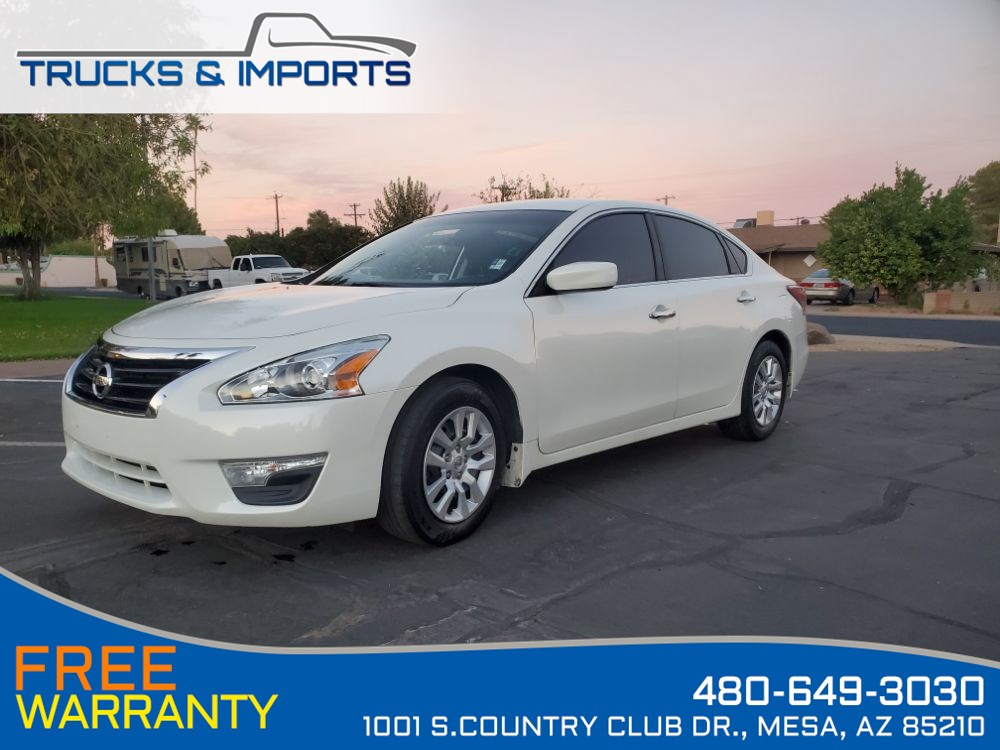 2015 Nissan Altima 2.5 S One Owner Clean CarFax Dealership Records!