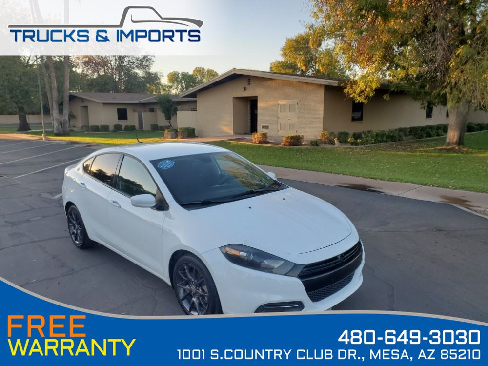 2016 Dodge Dart SE Clean CarFax shows Dealership Service Records!