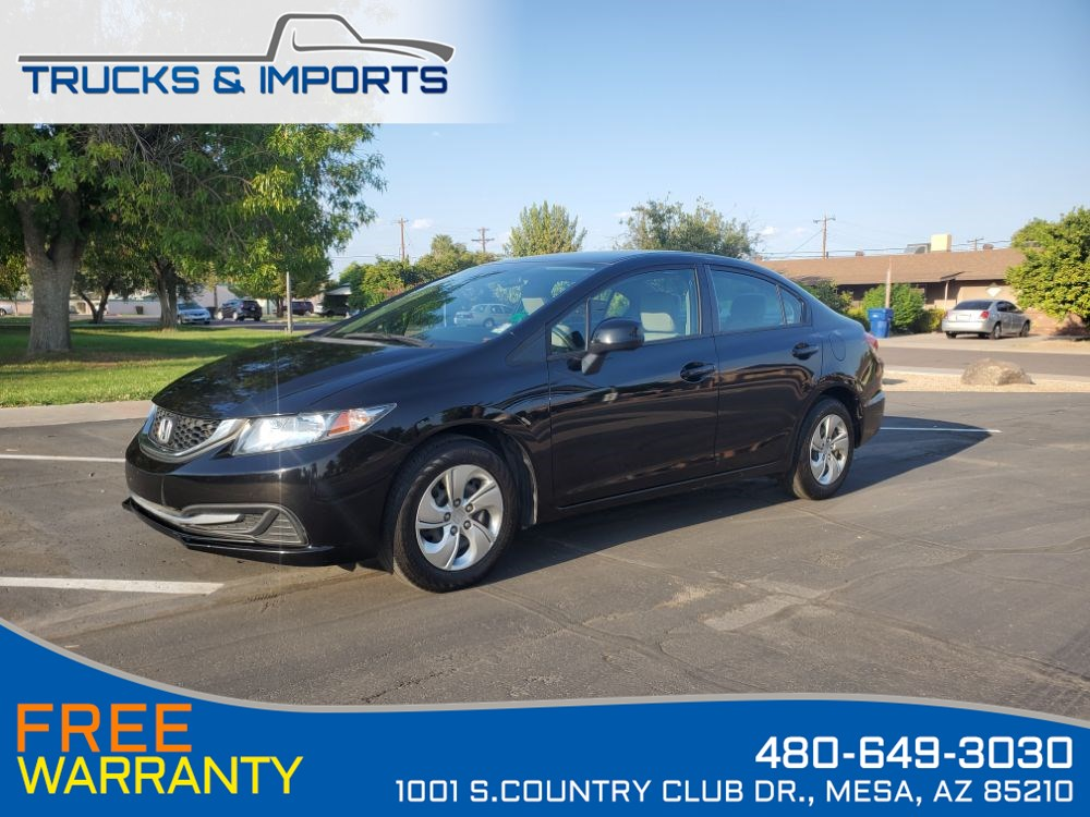 2013 Honda Civic LX One Owner Clean CarFax 4 in stock!