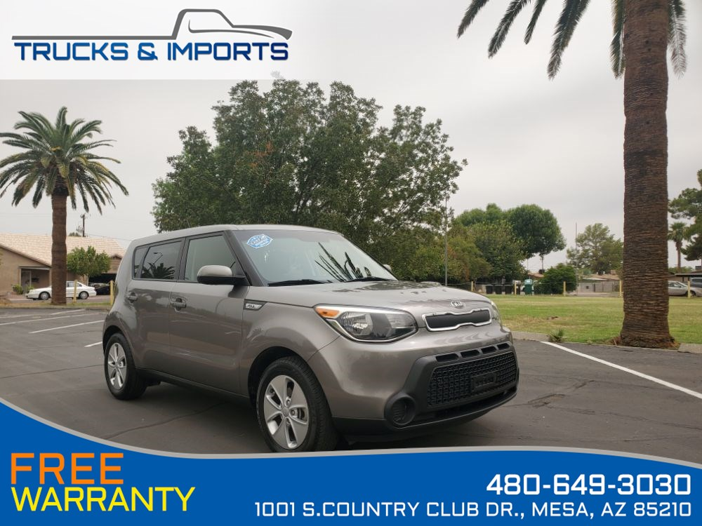 2016 Kia Soul Base Clean CarFax Dealerhship Records!