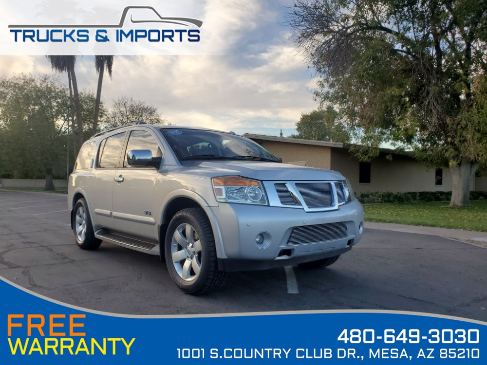 2009 Nissan Armada LE Clean CarFax shows Nissan Dealership Records!
