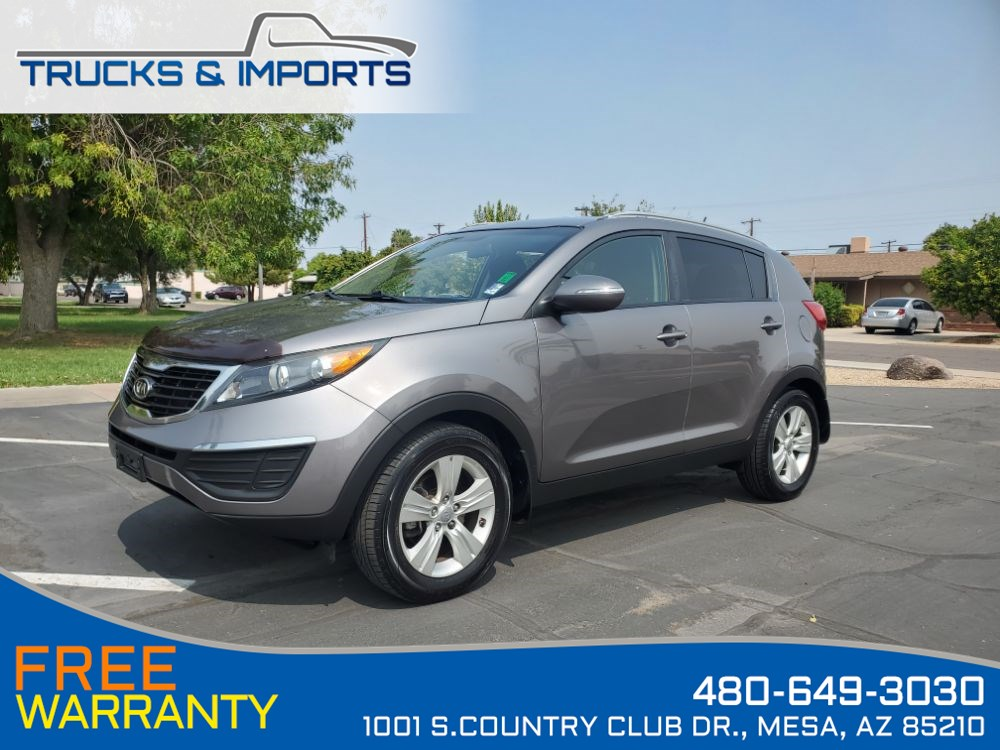 2012 Kia Sportage LX CarFax shows Very Detailed Service Records!