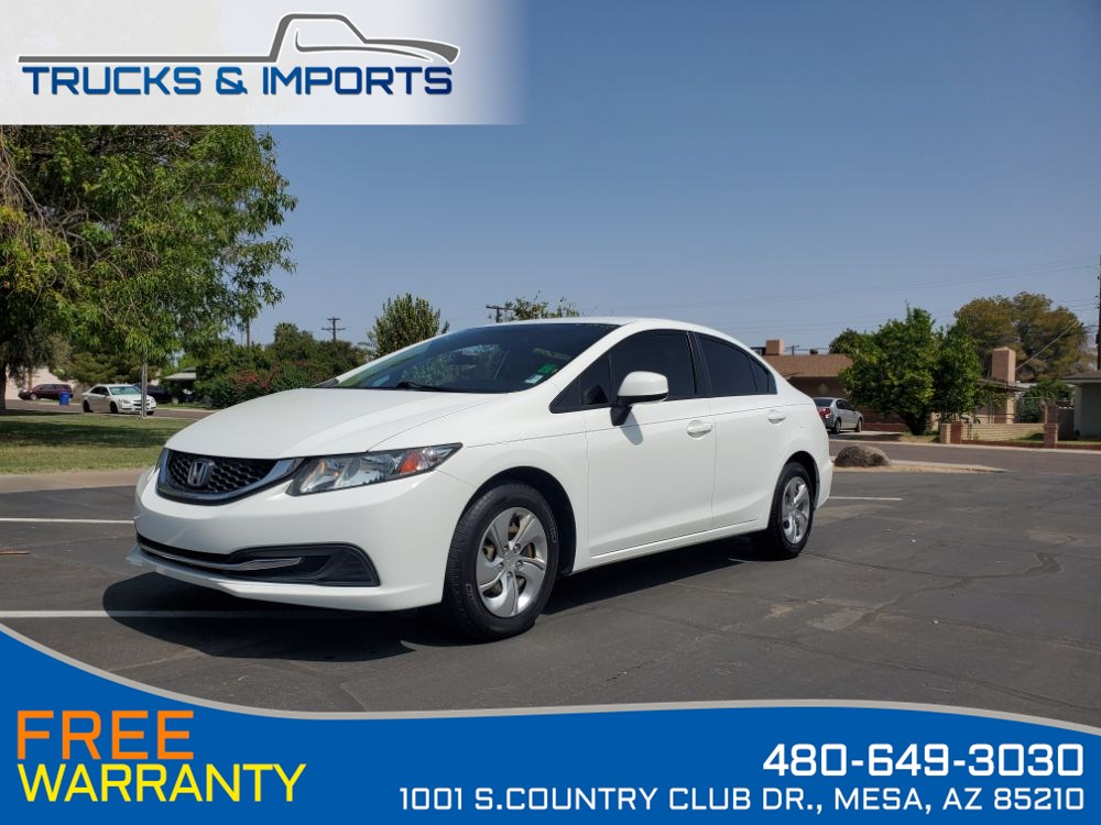 2013 Honda Civic Sdn LX Clean CarFax 4 in stock!