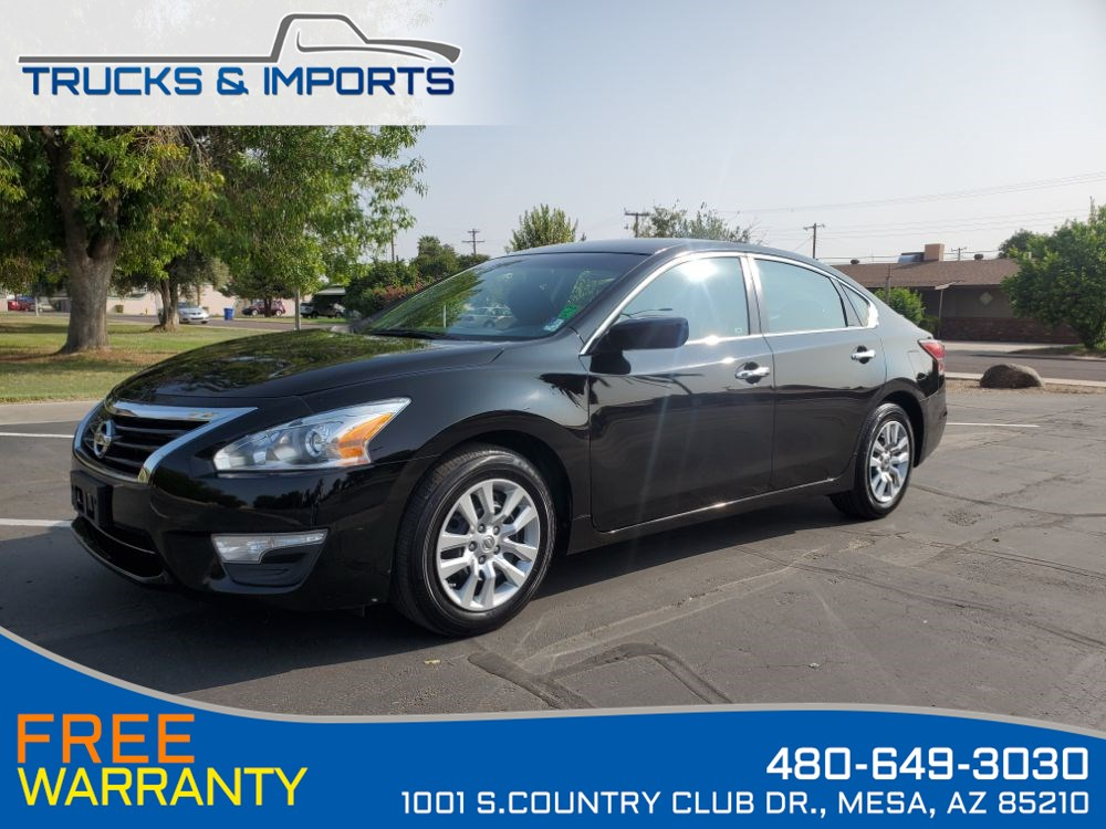 2015 Nissan Altima One Owner Clean CarFax shows Dealership Records!