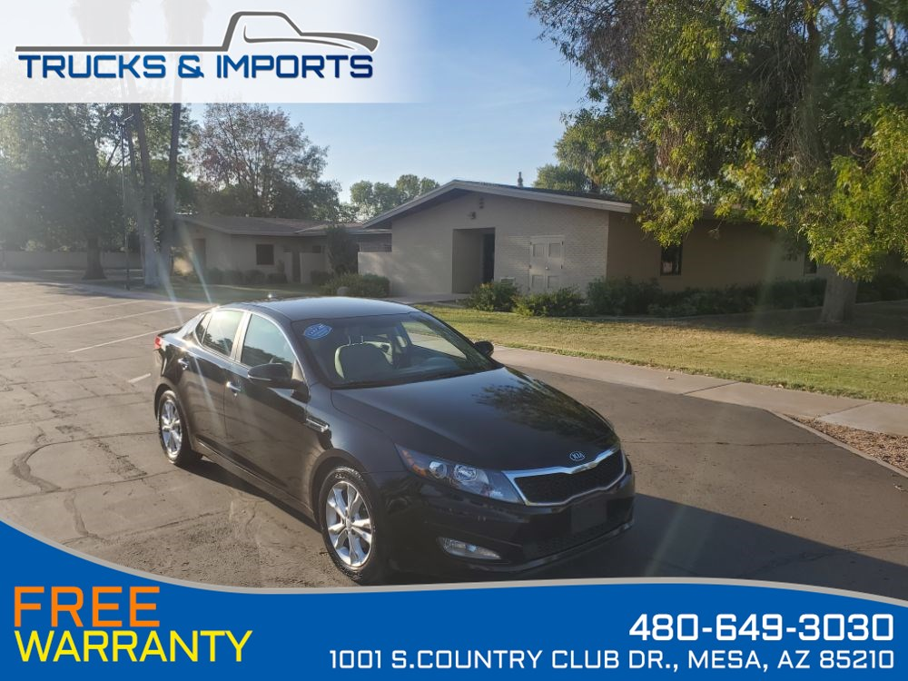 2013 Kia Optima EX Clean CarFax shows Dealership Service Records!