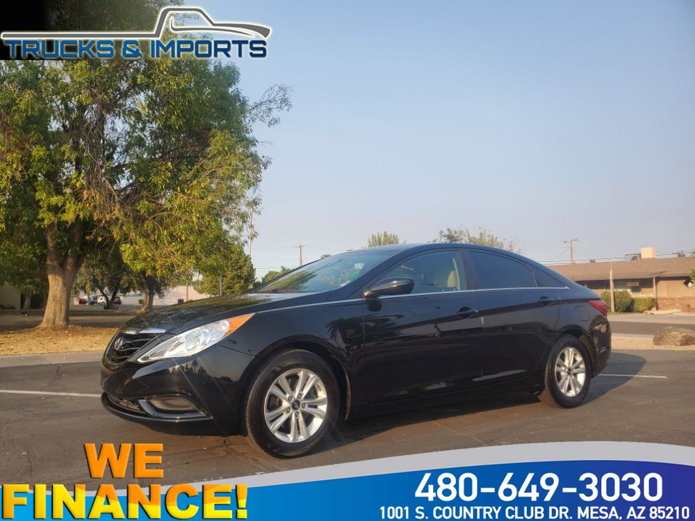 2013 Hyundai Sonata GLS PZEV  One Owner Clean CarFax 6 in stock!