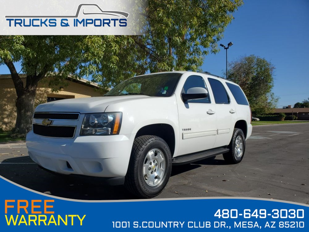 2013 Chevrolet Tahoe LS One Owner Clean CarFax Detailed Service Records