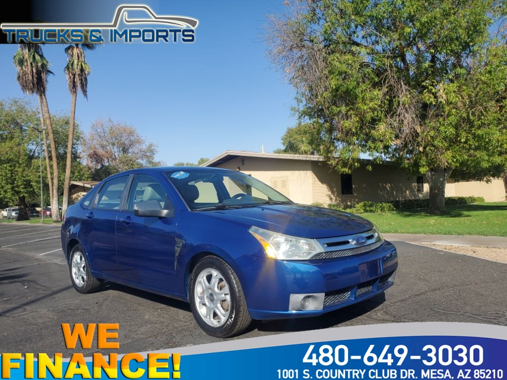 2008 Ford Focus SES Great Color 35 MPG!