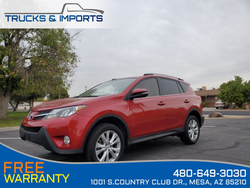 2013 Toyota RAV4 Limited Clean CarFax shows Service Records!