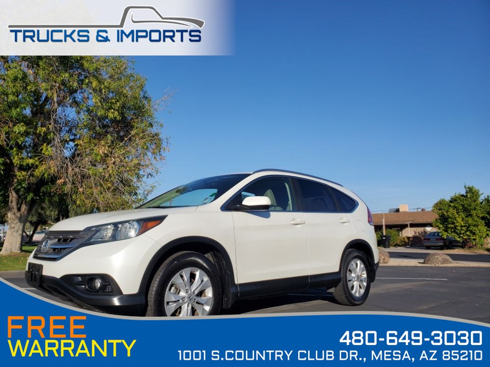 2013 Honda CR-V EX-L One Owner Clean CarFax Dealership Records!
