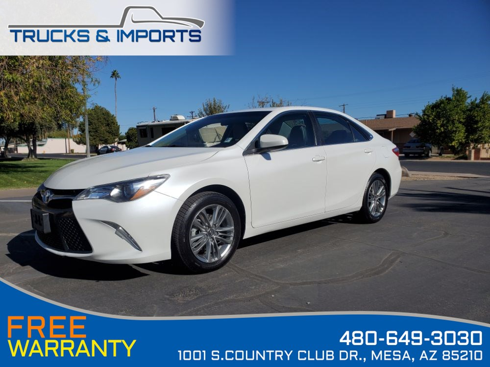 2017 Toyota Camry SE One Owner Clean CarFax Dealership Records!