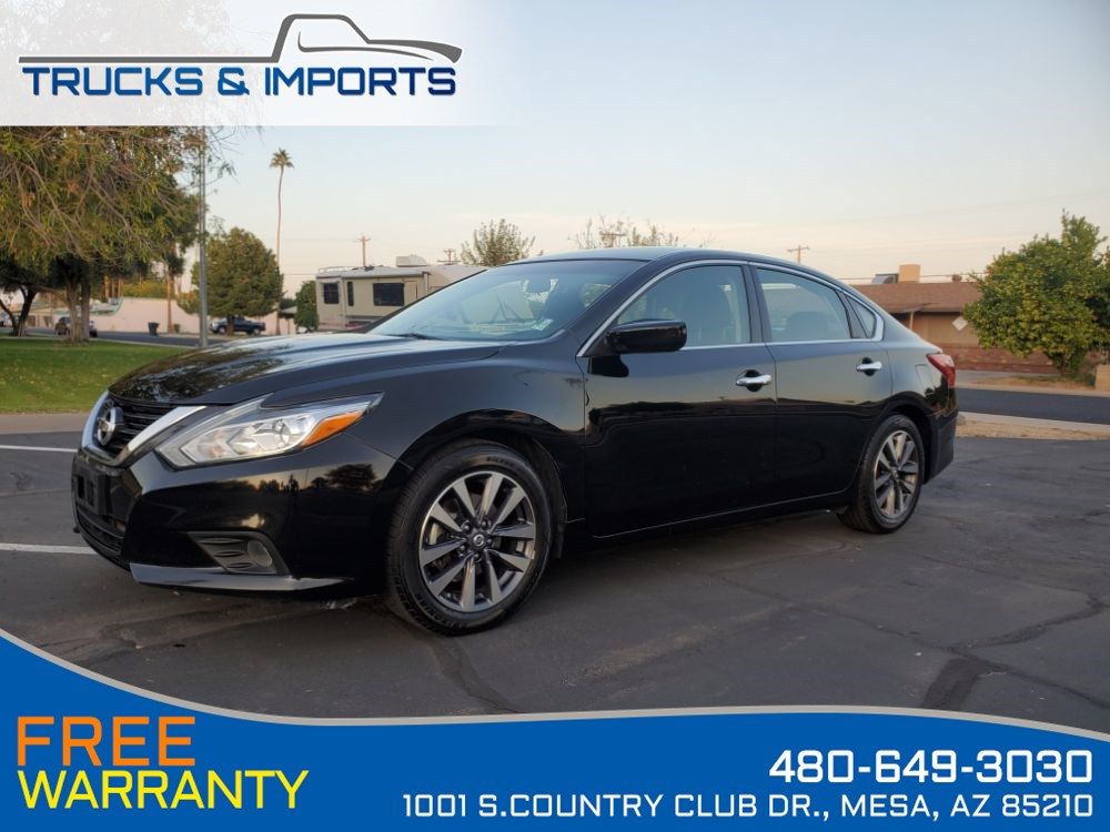 2017 Nissan Altima 2.5 SV Clean CarFax Bluetooth, Backup Camera