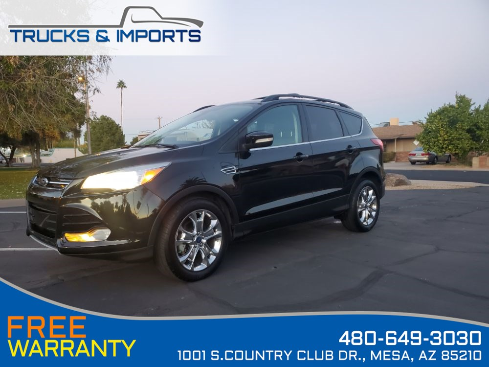 2013 Ford Escape SEL Clean CarFax Detailed Records EcoBoost!