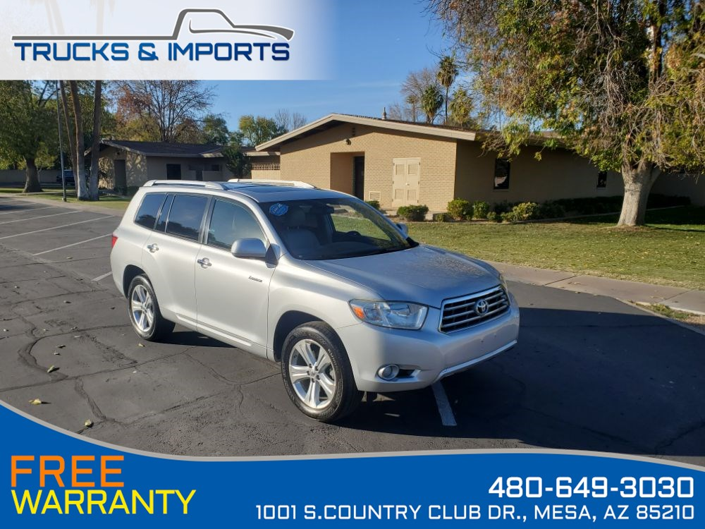 2009 Toyota Highlander Limited Clean CarFax Dealership Records 2 in stock