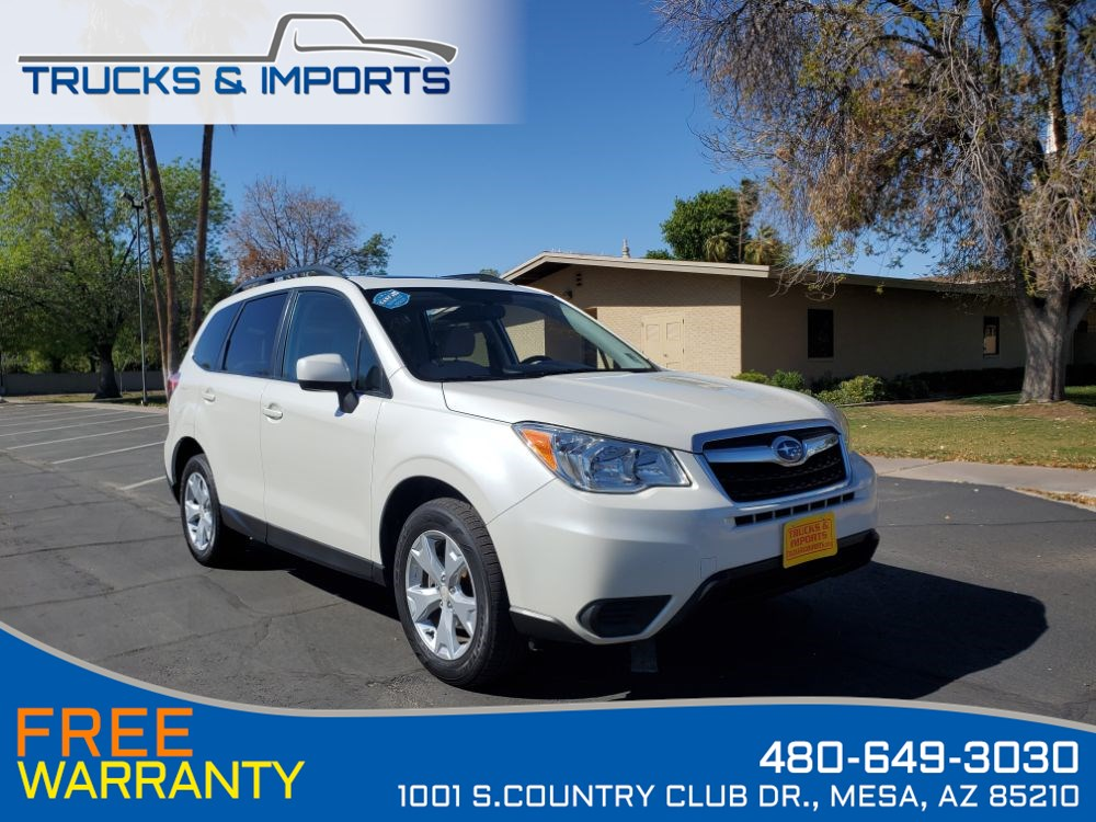 2015 Subaru Forester 2.5i Premium One Owner! Bluetooth, Backup Camera!