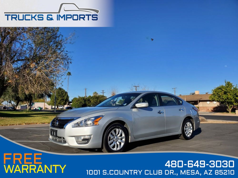 2015 Nissan Altima 2.5 S Clean CarFax shows Dealership Records!