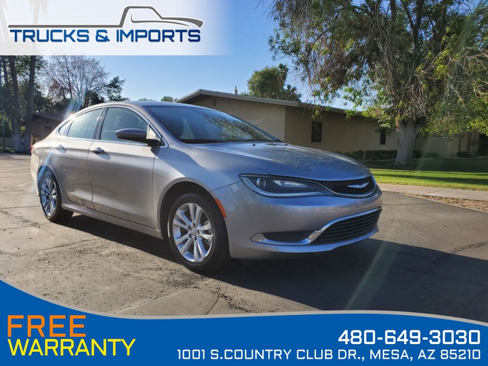 2015 Chrysler 200 Limited Clean CarFax 36 MPG!