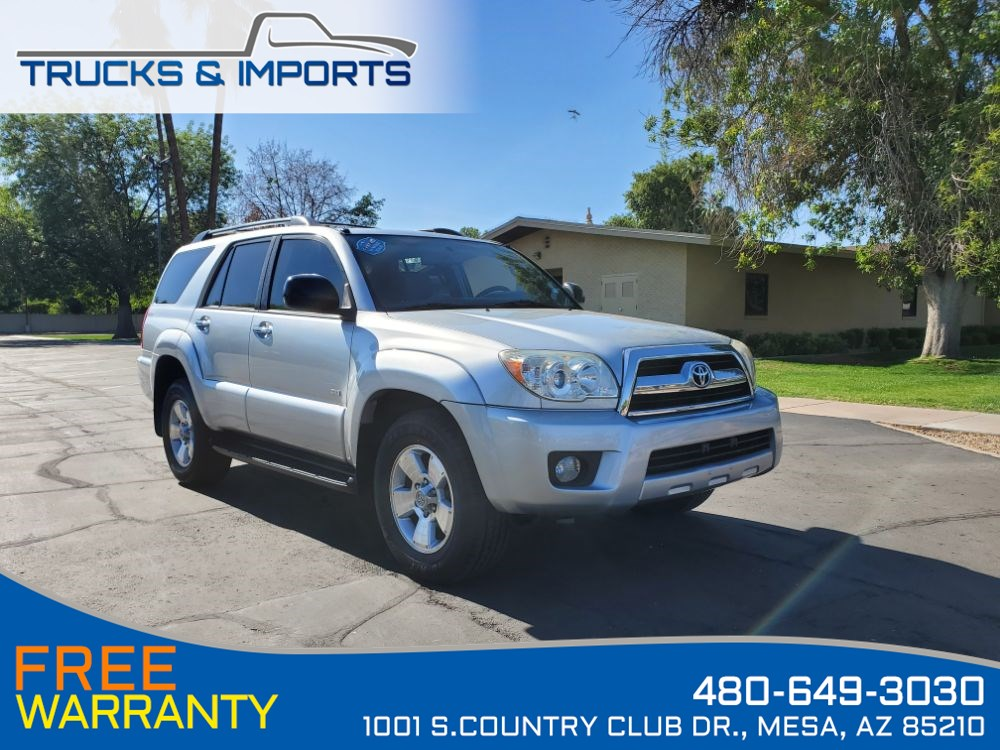 2008 Toyota 4Runner SR5 Detailed Service Records on CarFax!