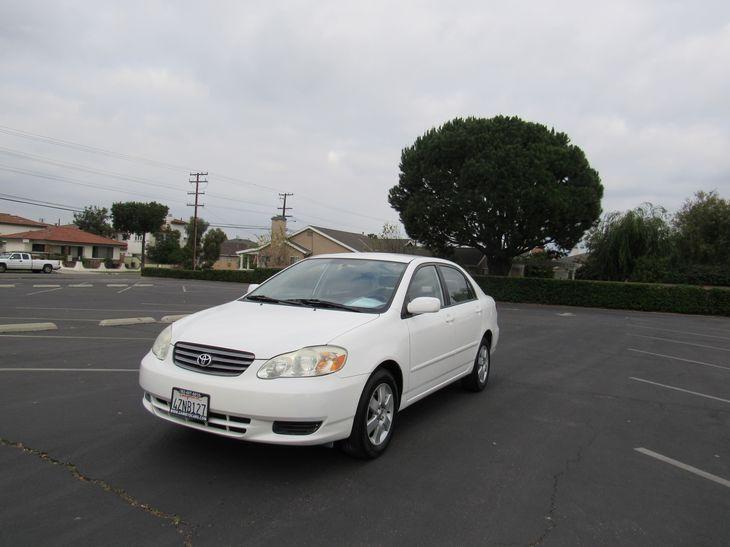 Sold 2003 Toyota Corolla LE in Bellflower