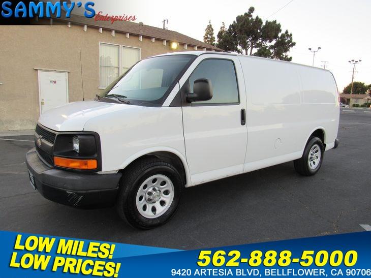 Sold 2010 Chevrolet Express Cargo Van In Bellflower