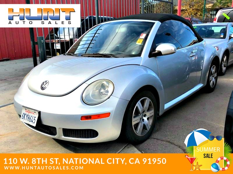 Used 2006 Volkswagen New Beetle Convertible In National City