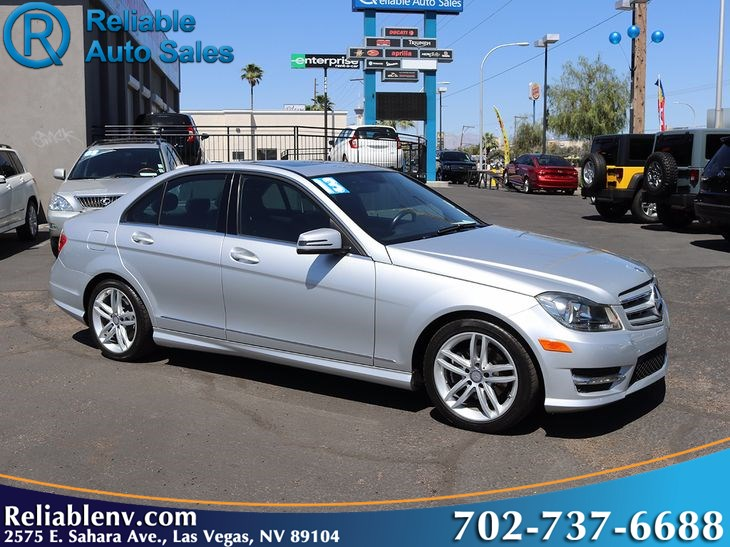 2013 Mercedes-Benz C 250 Sport Sedan W/ CPO WARRANTY