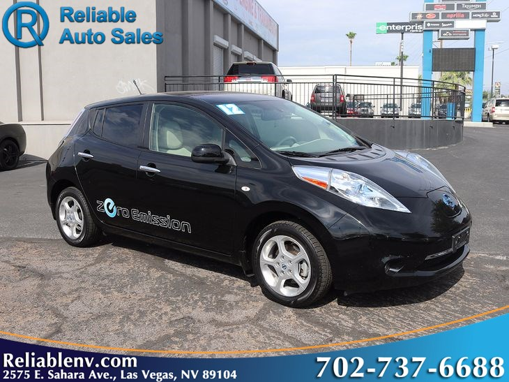 2012 Nissan Leaf Sl Near Las Vegas Reliable Auto