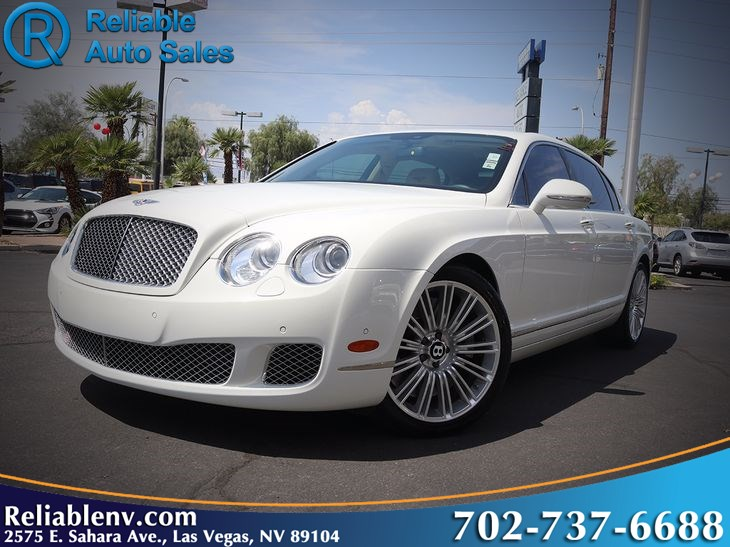 2013 Bentley Continental Flying Spur Speed Near Las Vegas Reliable
