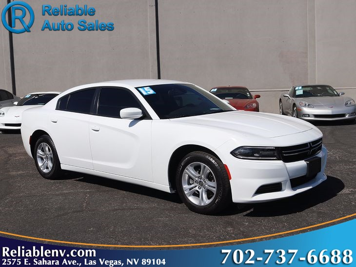 White Dodge Charger >> 2015 Dodge Charger Se W Cpo Warranty Reliable Auto Sales