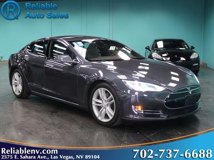 2015 Tesla Model S 90d W Autopilot Near Las Vegas Reliable Auto