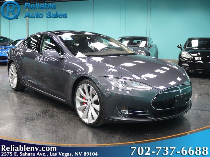 2015 Tesla Model S P90d W Auto Pilot Ludicrous Mode Near Las