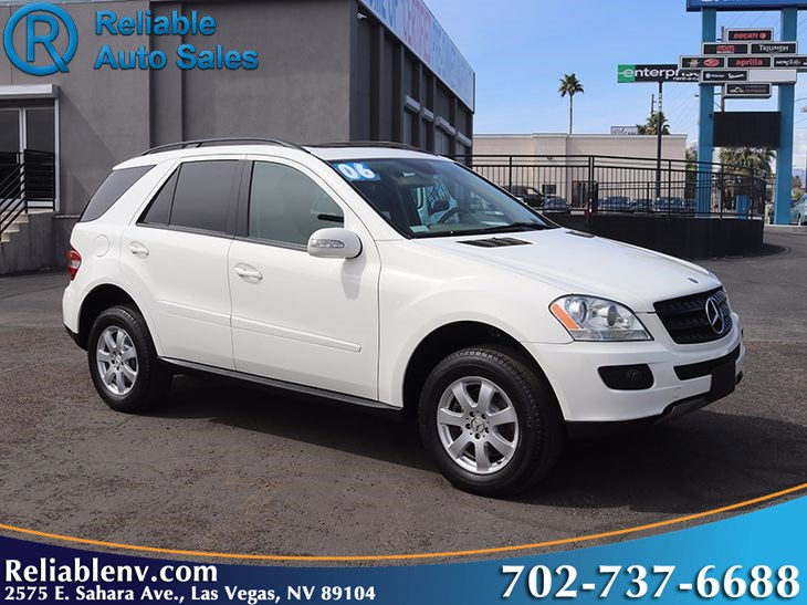 2006 Mercedes-Benz ML350 SUV   W / CPO WARRANTY