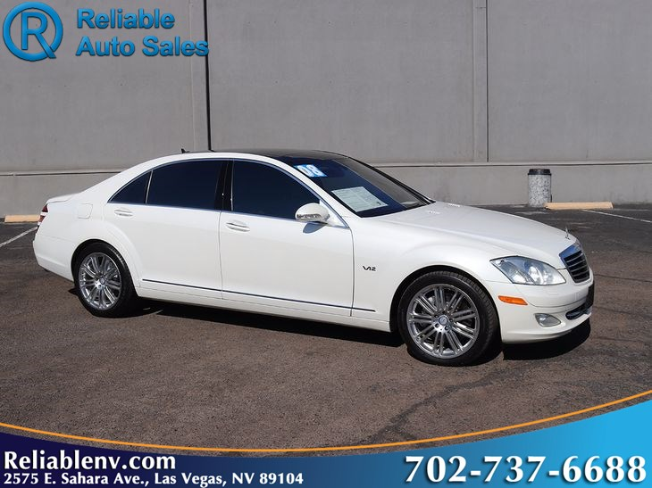2008 Mercedes-Benz S600    W / CERTIFIED WARR Sedan DESIGNO