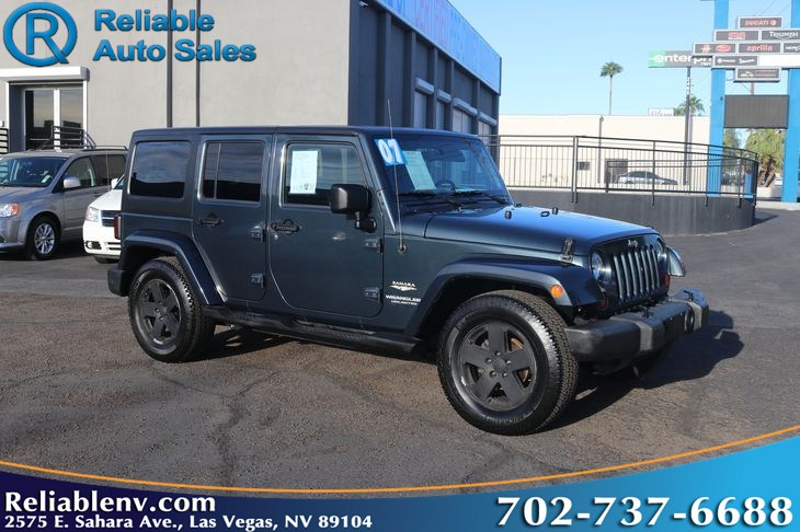 2007 Jeep Wrangler Unlimited Sahara   W / CERTIFIED WARR