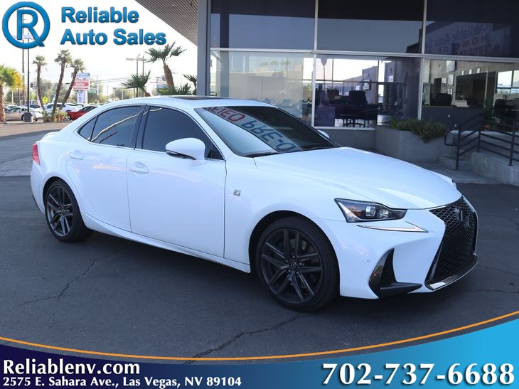 2018 Lexus IS IS 350  W / CERTIFIED WARR SHOWROOM NEW