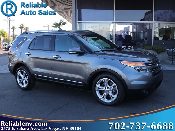 2014 Ford Explorer Limited  W / CERTIFIED WARR