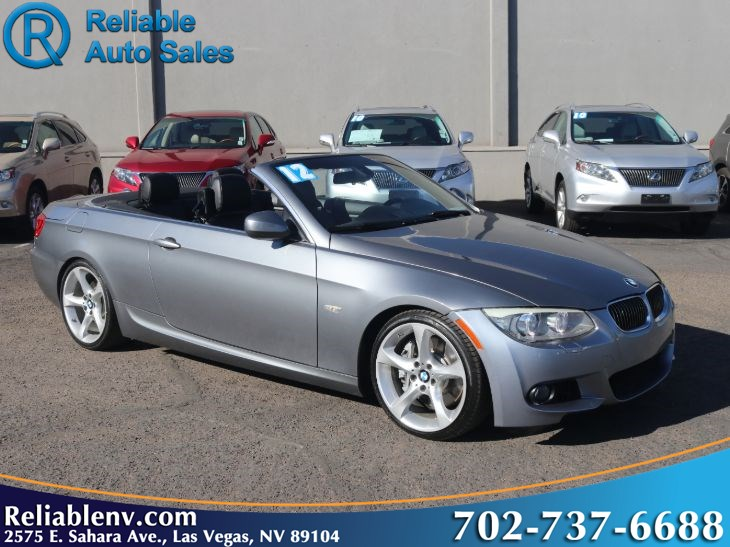 2012 BMW 3 Series 335i  W / CERTIFIED WARR