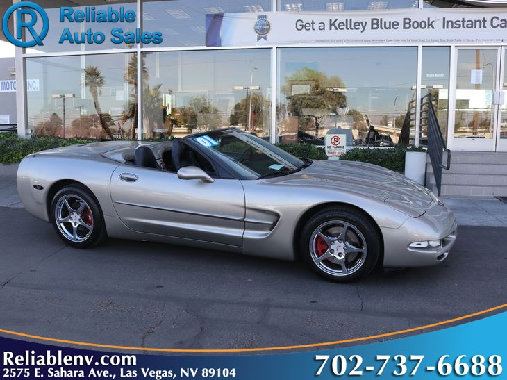2001 Chevrolet Corvette W / CERT WARRANTY