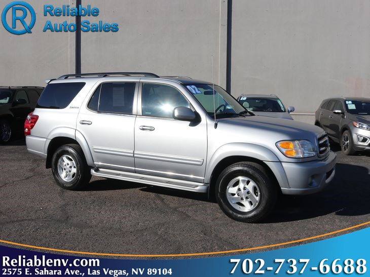2002 Toyota Sequoia Limited  W / CERT WARRANTY