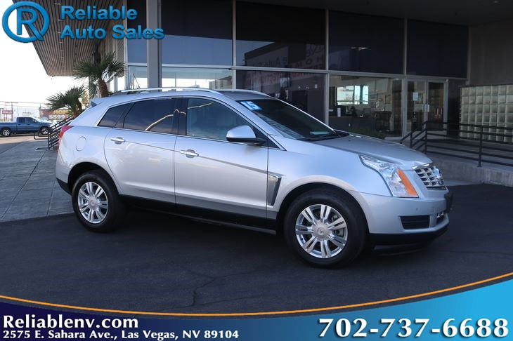 2015 Cadillac SRX Luxury Collection   W / CERT WARRANTY