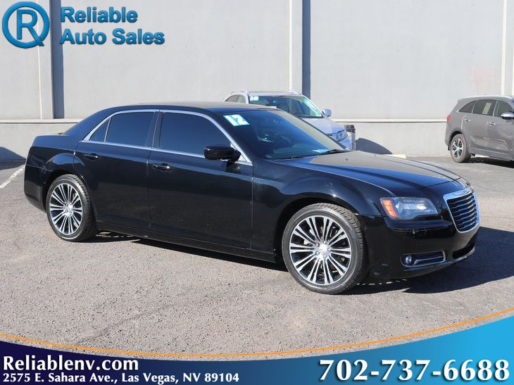 2012 Chrysler 300 300S   W / CERT WARRANTY