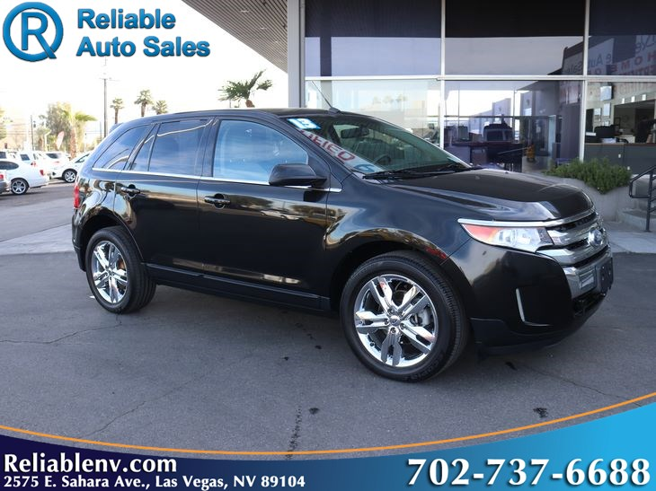2013 Ford Edge Limited  W/ certified WARRANTY