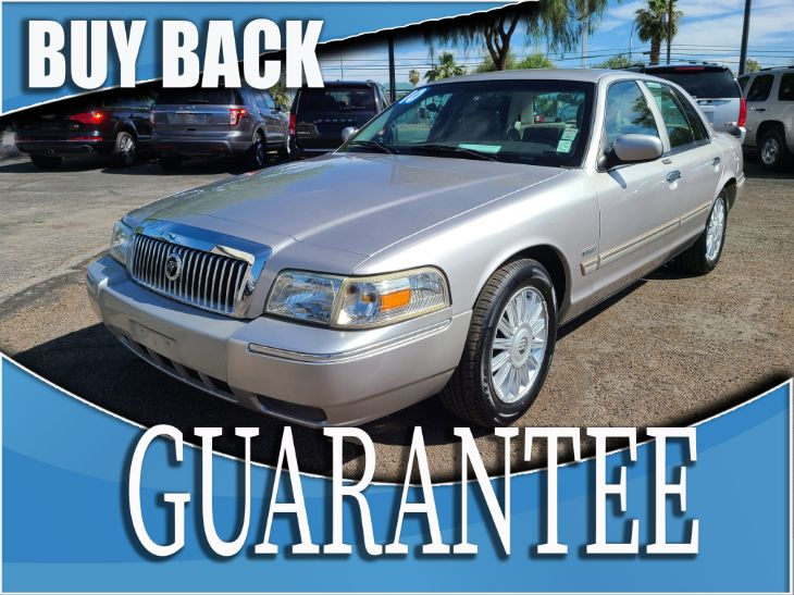 2010 Mercury Grand Marquis LS    w/ certified protection