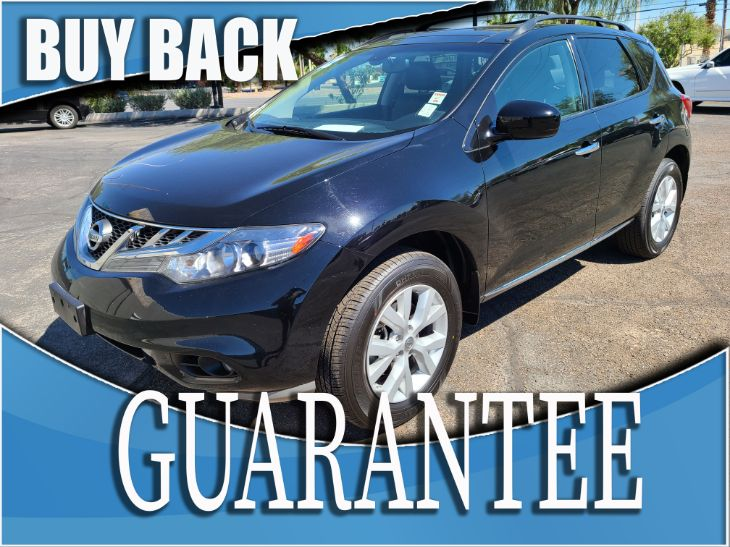 2012 Nissan Murano SL  W / CERTIFIED PROTECTION