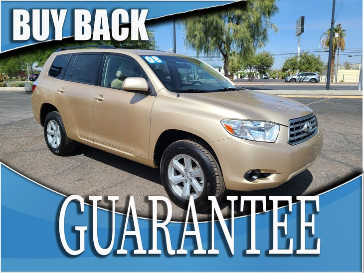 2008 Toyota Highlander Base   W / CERTIFIED PROTECTION