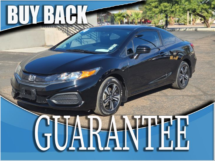 2014 Honda Civic Coupe EX    W / CERTIFIED PROTECTION