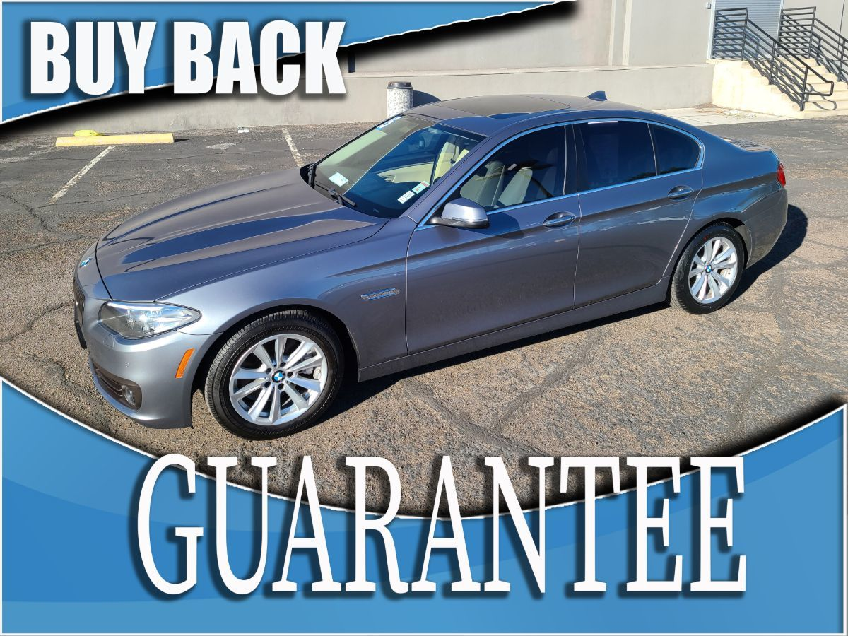 2015 BMW 5 Series 528i  W / CERTIFIED PROTECTION