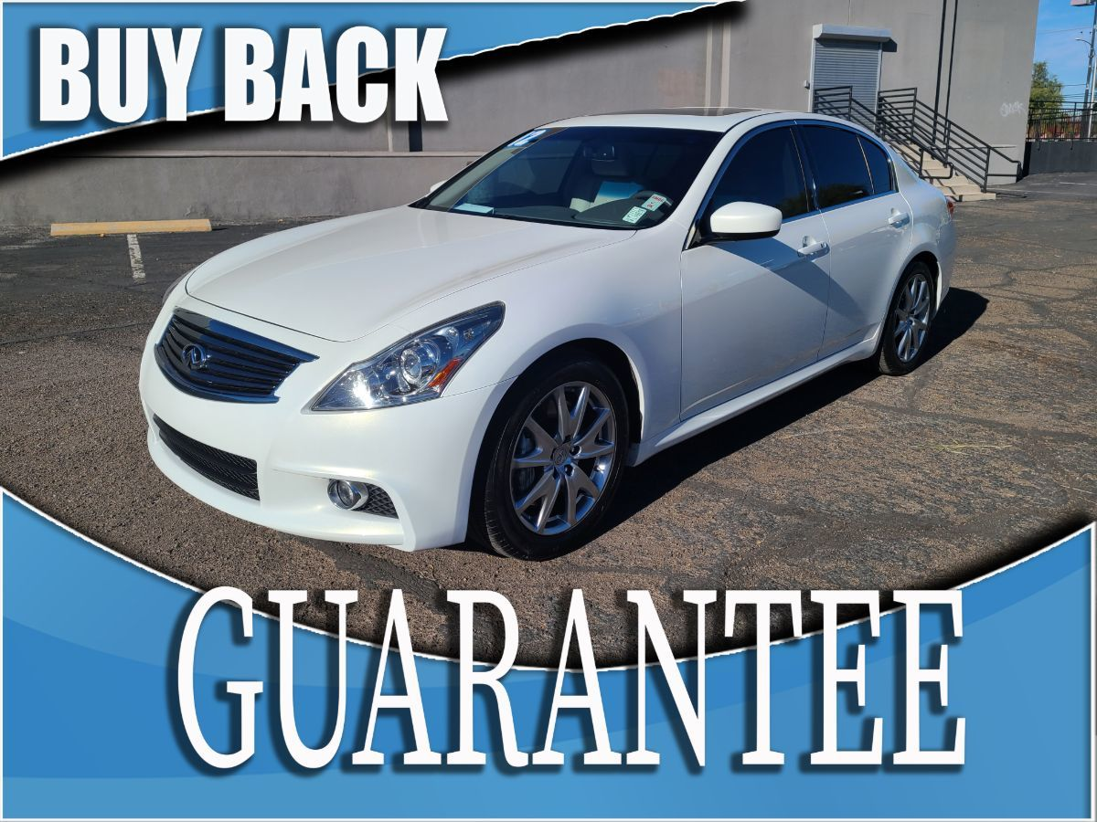 2012 INFINITI G37 Sedan Journey    W / CERTIFIED PROTECTION