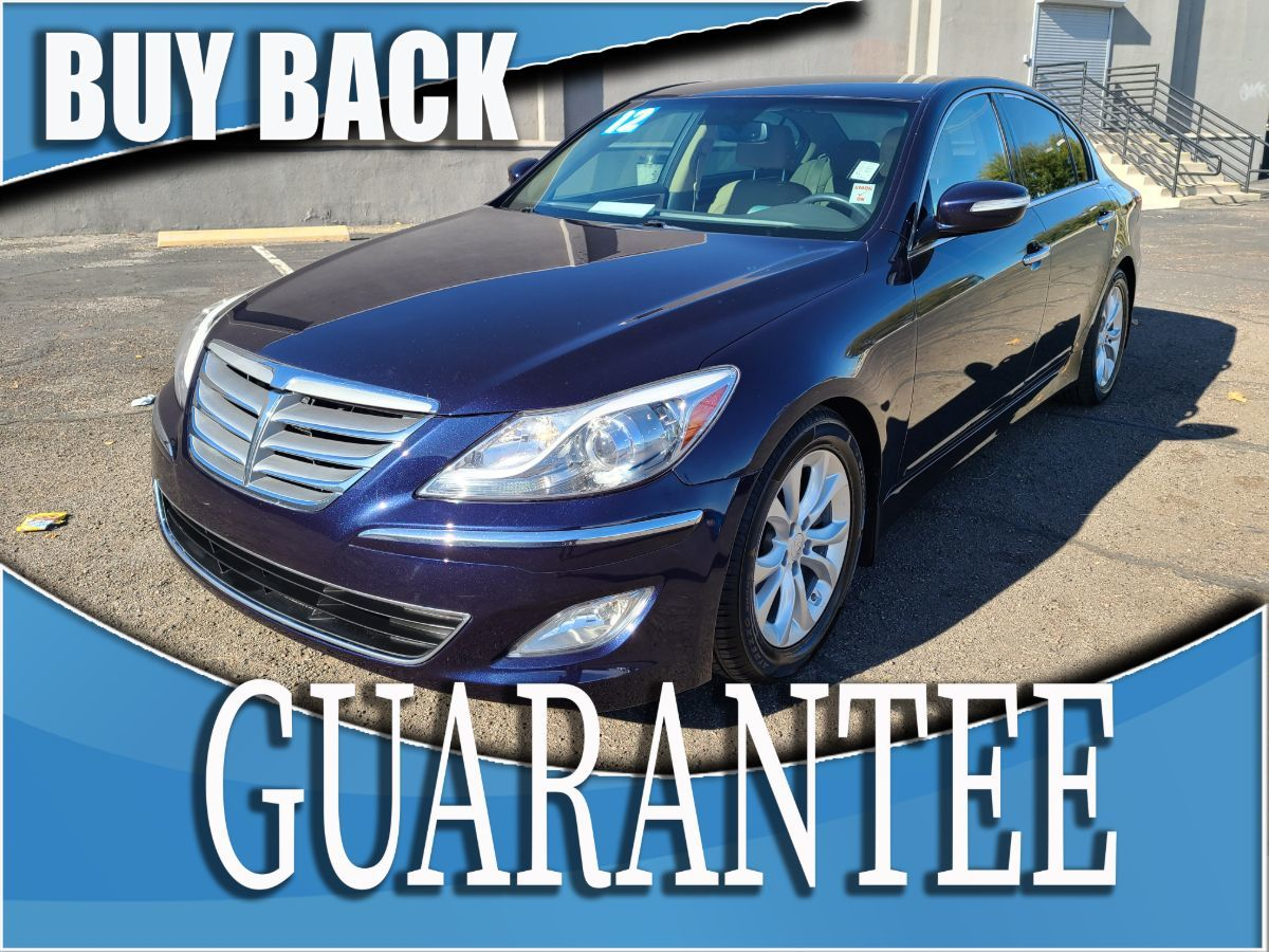 2012 Hyundai Genesis 3.8L    W / CERTIFIED PROTECTION